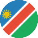 Namibia Flag World Icon