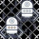 Nano Robot Icon