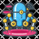 Nano Robotic Robotic Machine Icon