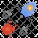 Nanobots Nanomedicine Cancer Icon