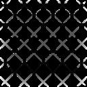 Nanomaterials Graphene Hexagonal Icon