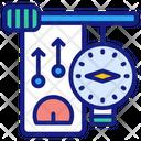 Nanometer Gauge Credit Icon