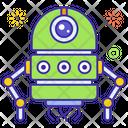 Nanorobot Robot Mechanical Man Icon