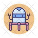 Nanorobots Mini Robots Minibots Icon