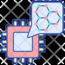 Nanotechnology Atom Molecule Icon