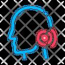 Pin Nape Pain Icon