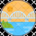 Napier Bridge Arched Bridge Footbridge Icon