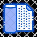 Waterproof Material Napkin Icon