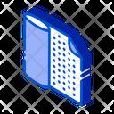 Fiber Material Membrane Icon