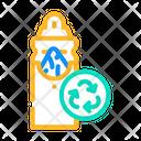 Napkin Recycle Napkin Holder Icon