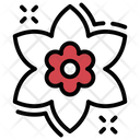 Narcissus Flower Fragrance Icon