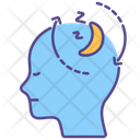 Narcolepsy Sleep Mental Health Icon