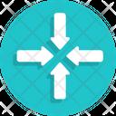 Narrow Sign Icon