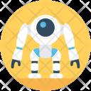 Nasa Robot Monster Icon