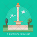 National Monument Building Icon