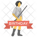 National Guard Birthday Icon