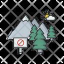 National Park Conservation Preservation Icon