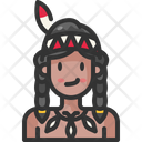 Native American Avatar Cultures Icon