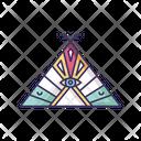 Native American Chief Teepee Icon