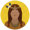 Native American Man Icon