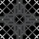 American Sun Native American Sun Symbol Sun Icon