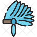 Native Head Dress Icon