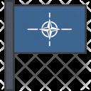 Nato Treaty Flag Icon