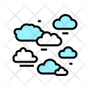 Natural Clouds Color Icon