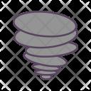 Natural Disaster Tornado Icon