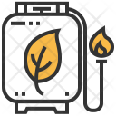Natural Gas Energy Icon