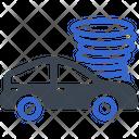 Car Vehicles Crash Icon