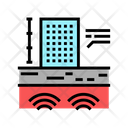 Natural Disasters Building Icon