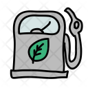 Natural Gas Station Icon