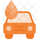 Nature Gas Car Icon