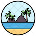 Natural Island Icon