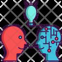 Natural Language Copy Language Absorb Icon