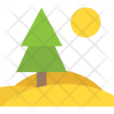 Larch Wood Tree Icon