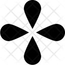 Lower Shape Petals Icon