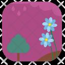 Flower Summer Night Icon