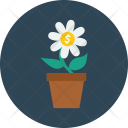 Nature Flower Plant Icon
