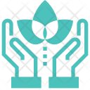 Nature Conservation Hands Icon