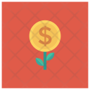 Nature Plant Coins Icon