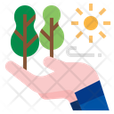 Nature Loving Nature Protection Ecology Icon