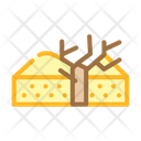 Nature Drought Color Icon