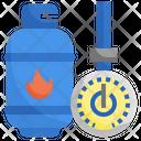 Nature Gas Icon