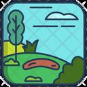 Nature Landscape Icon
