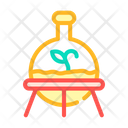 Laboratory Growth Plant Icon