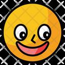 Naughty Emoji Face Icon