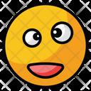 Naughty Happy Face Icon