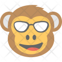 Monkey Emoji Naughty Icon